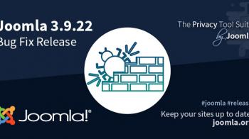 Joomla 3.9.22 Release Bug Fix