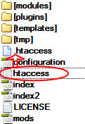 joomla htaccess