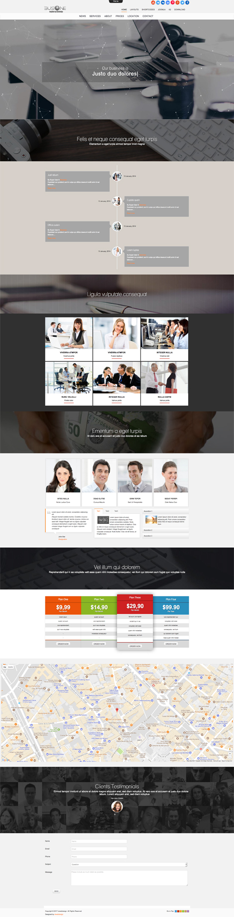 Ol Busone - Joomla Business Template