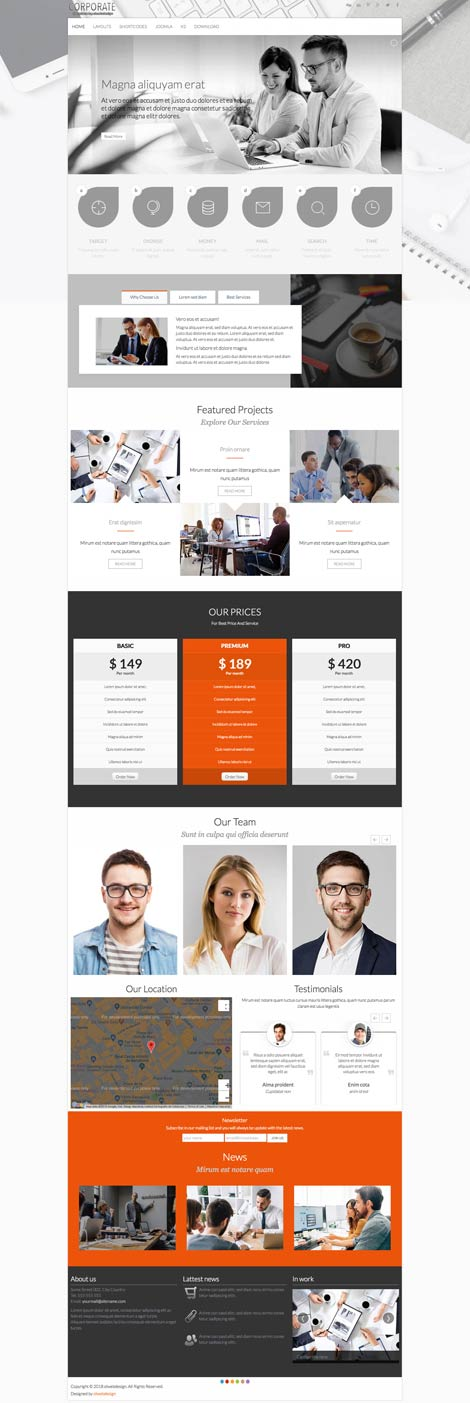 Ol Corporate - Business Joomla Template