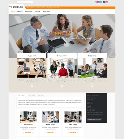 Erstellen - Consulting Business template