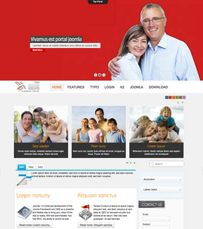 My Family Joomla Template