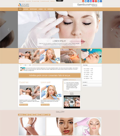 Beauty Center Joomla Template