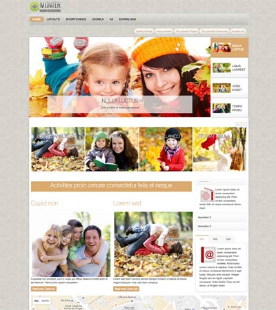Family Joomla Template
