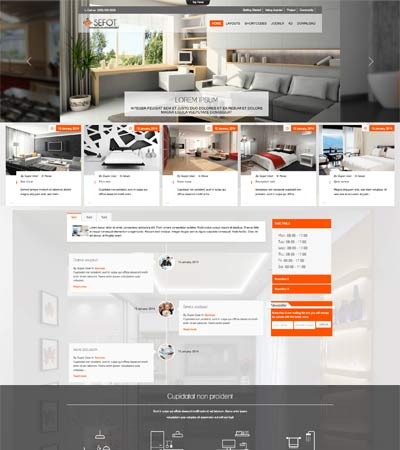 Joomla Interior Template