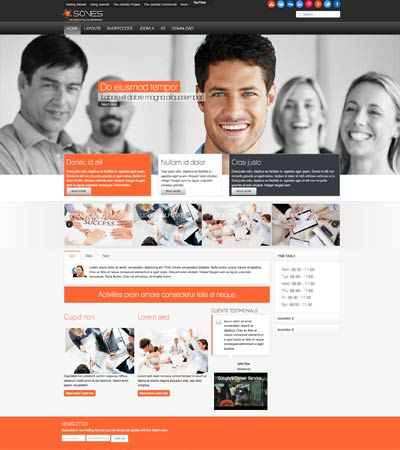 Soves joomla template template
