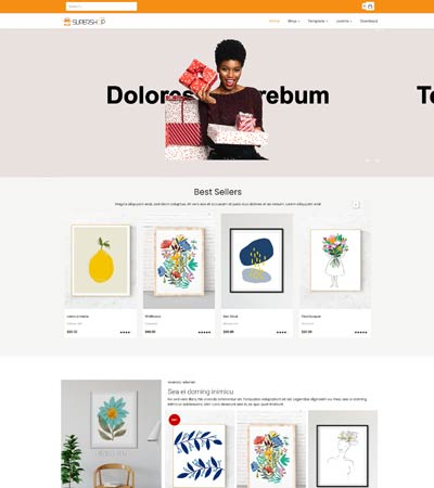 eCommerce Joomla Template Virtuemart