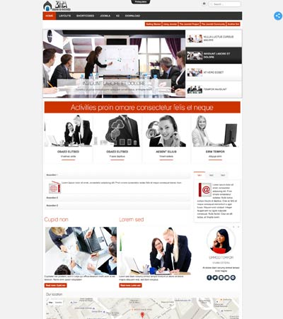 Joomla Business Agency Template